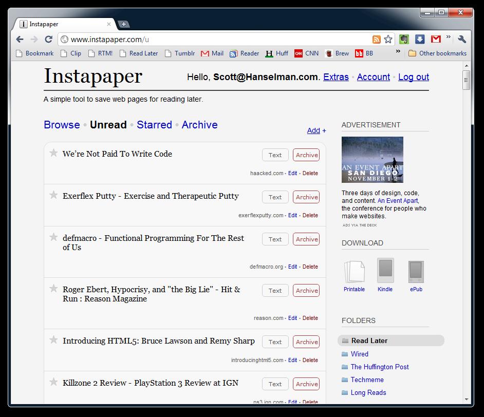 Description: Instapaper - Google Chrome (2)