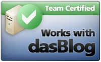 Works with dasBlog