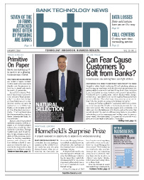 Alex Hart on the Cover of Bank Technology News