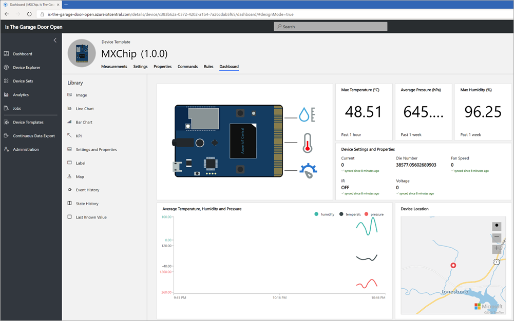 MxChip in Azure