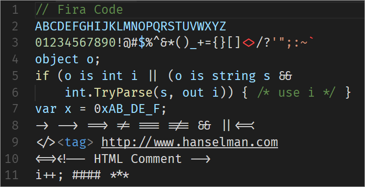 Fira Code