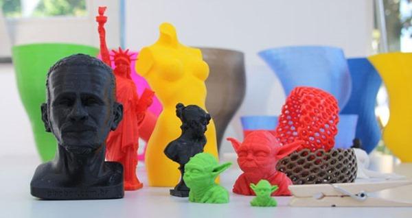 3D Printed stuff and a yoda head