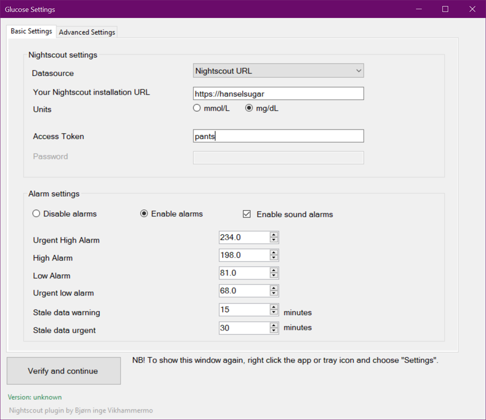 Updating FloatingGlucose to .NET 5 - Display Nightscout or Dexcom Glucose Values on the Windows Desktop