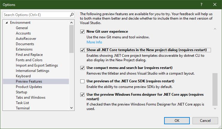 hanselman.com - Scott Hanselman - DotNet Boxed includes prescriptive templates for .NET Core