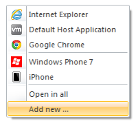 Simulating an iPhone or iPad browser for ASP NET Mobile Web