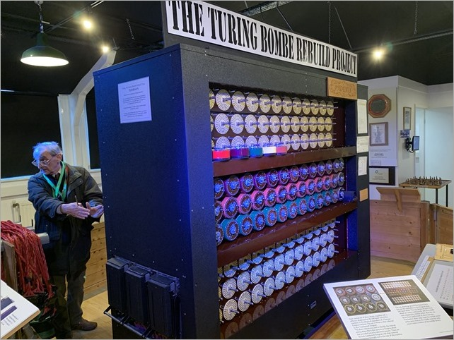 A working Bombe machine