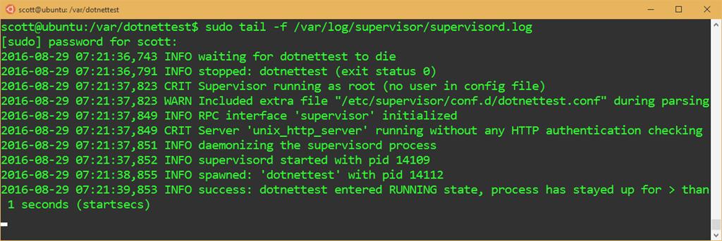 Publishing an ASP NET Core website to a cheap Linux VM host - Scott