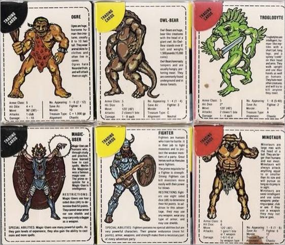 D&D Cards from Battle Grip