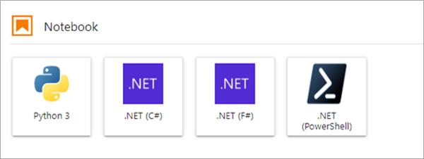 .NET in Jupyter Notebooks
