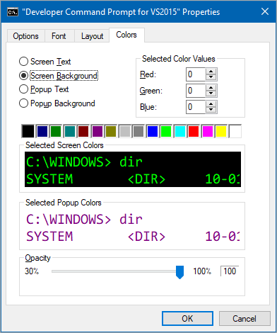 Get Solarized - Awesome command prompt colors for VS, VS