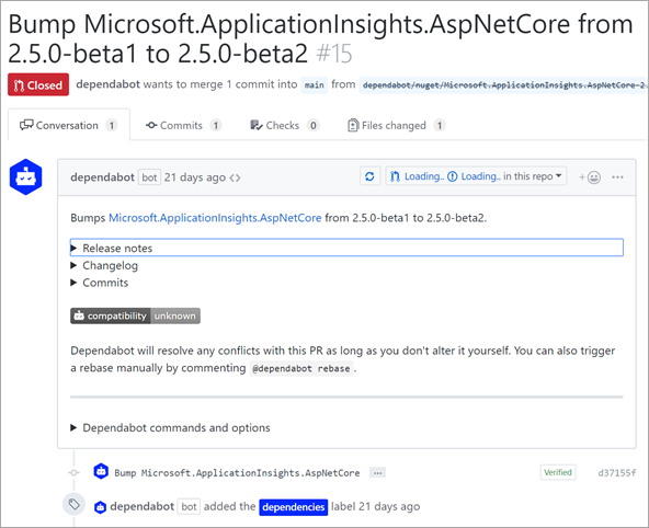 Bump Microsoft.ApplicationInsights.AspNetCore from 2.5.0-beta1 to 2.5.0-beta2