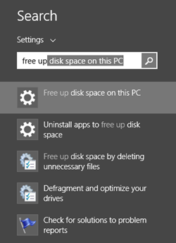 Guide to Freeing up Disk Space under Windows 8 1 - Scott Hanselman