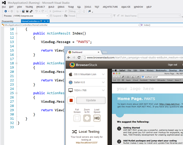 Remoting into a Mac and DEBUGGING with Visual Studio