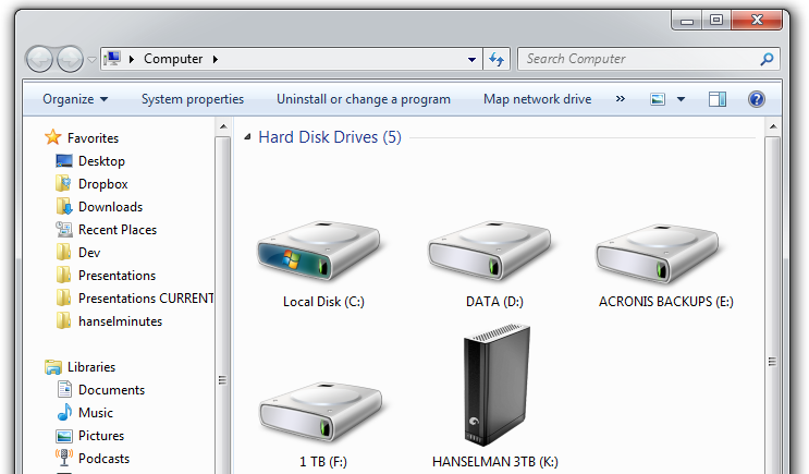 Setting a Custom Icon for your External Drives in Windows Explorer