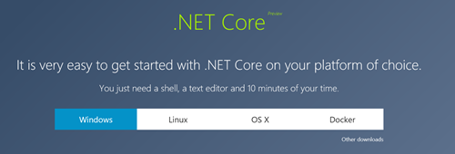 .NET Core at http://dot.net