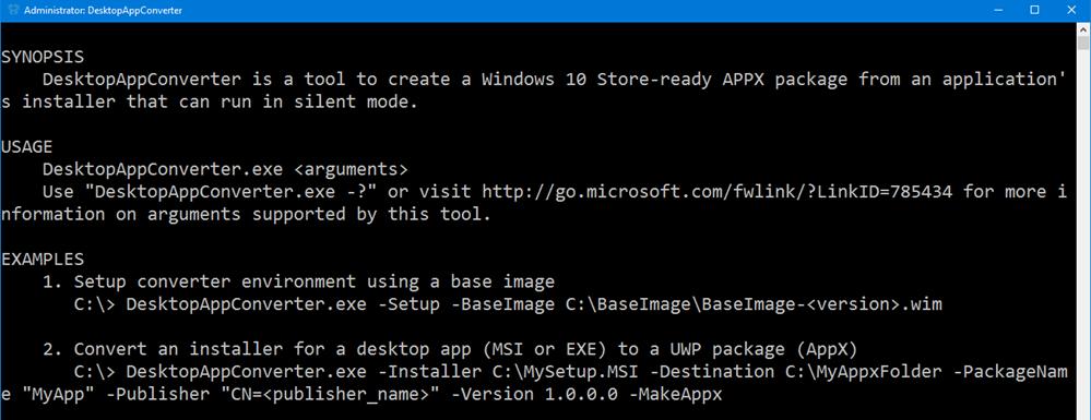 DesktopAppConverter