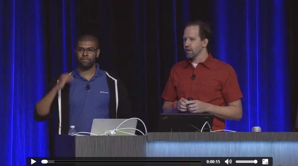 David Fowler and Scott Hanselman on ASP.NET vNext