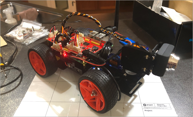 Building a SunFounder Raspberry Pi Car
