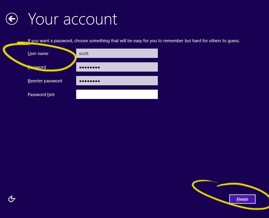 How to sign into Windows 8 or 8 1 without a Microsoft