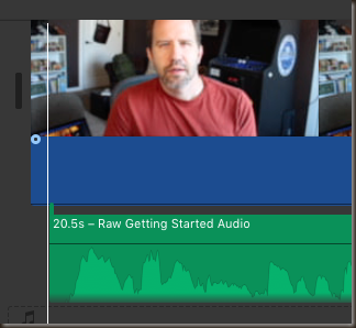 Lining up video and audio
