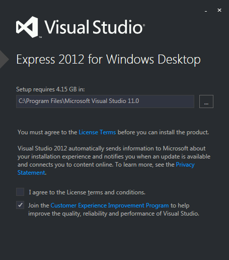 FREE: Visual Studio Express 2012 for Windows Desktop - Scott