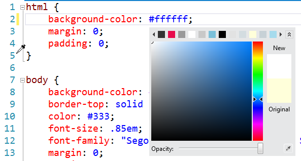 CSS Color Picker