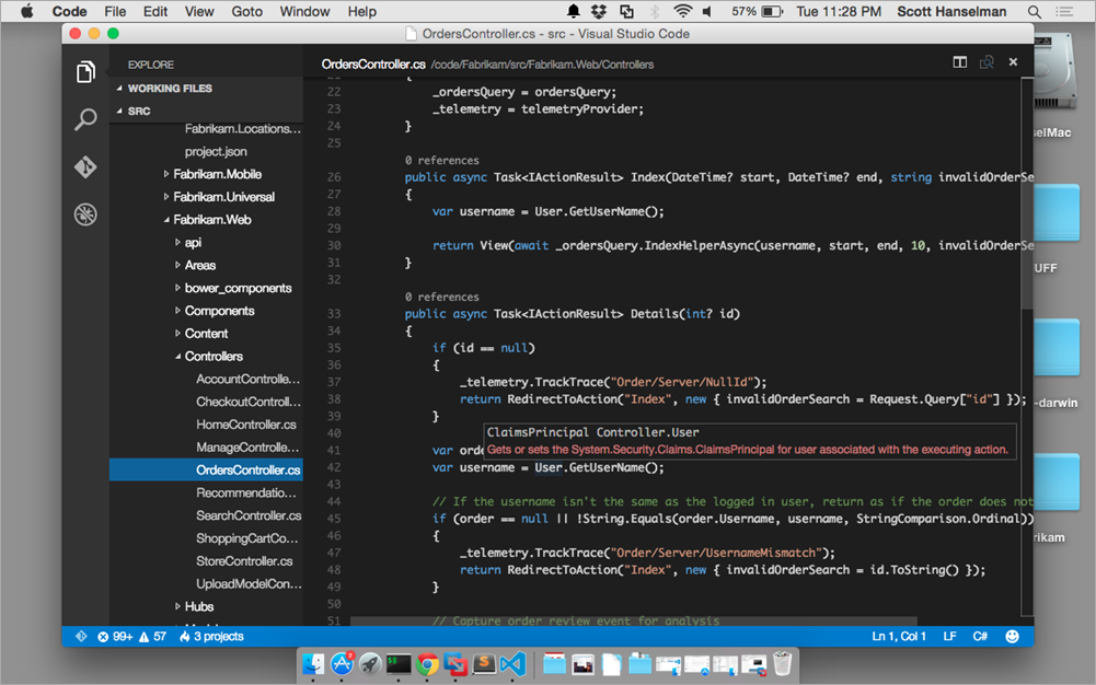 Introducing Visual Studio Code for Windows, Mac, and Linux - Scott