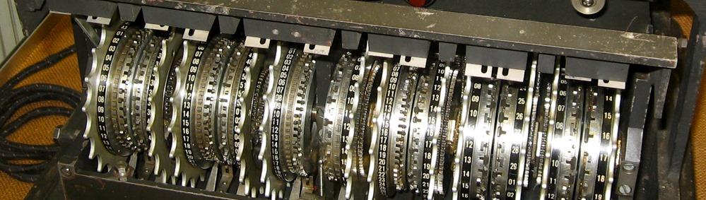 German Lorenz cipher machine by Timitrius used under CC Attributin