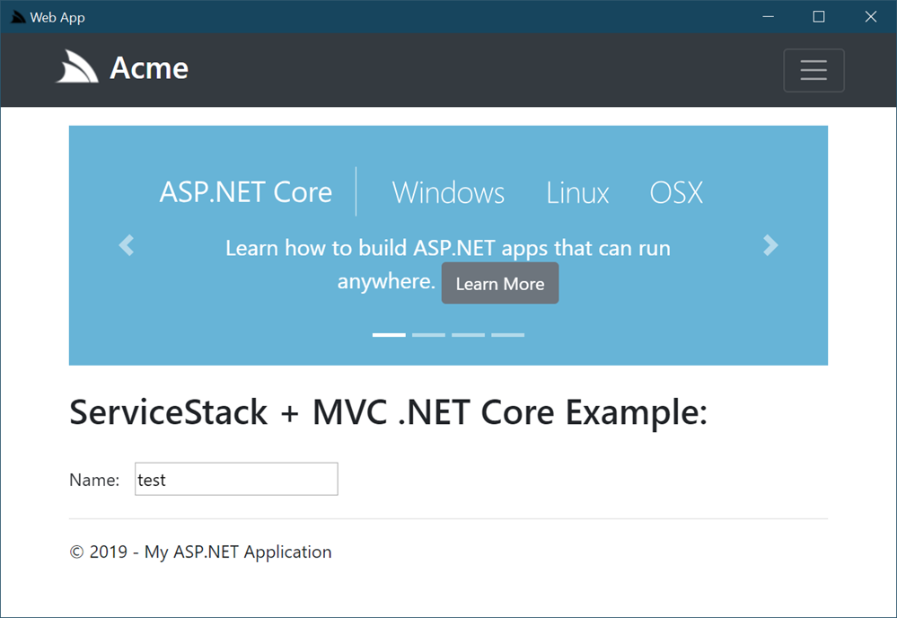 SharpScript from ServiceStack lets you run .NET apps directly from a GitHub Gist!