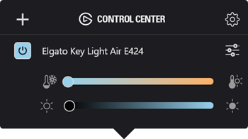 Fix for Elgato Key Light not found by Control Center