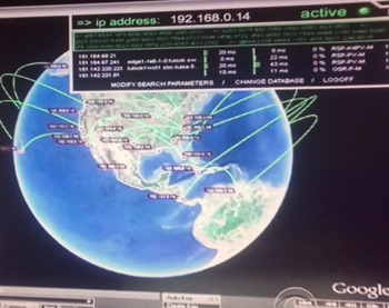 Internal IP address PLUS Google Earth equals National Security