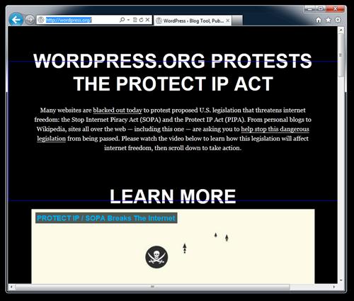 WordPress › Blog Tool, Publishing Platform, and CMS - Windows Internet Explorer (106)