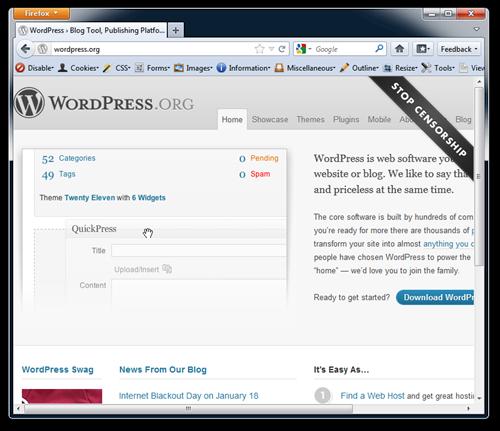 WordPress No JS
