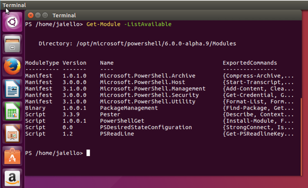 Holy crap PowerShell on Linux