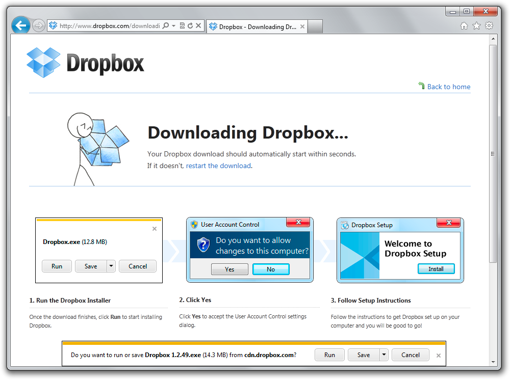 Good UX in the Wild: Dropbox's attention to detail on their