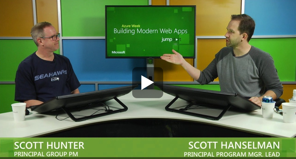 Scott Hunter and Scott Hanselman talking about What's New in VS2013