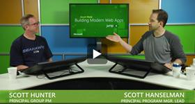 ScottHu and ScottHa talking about VS2013