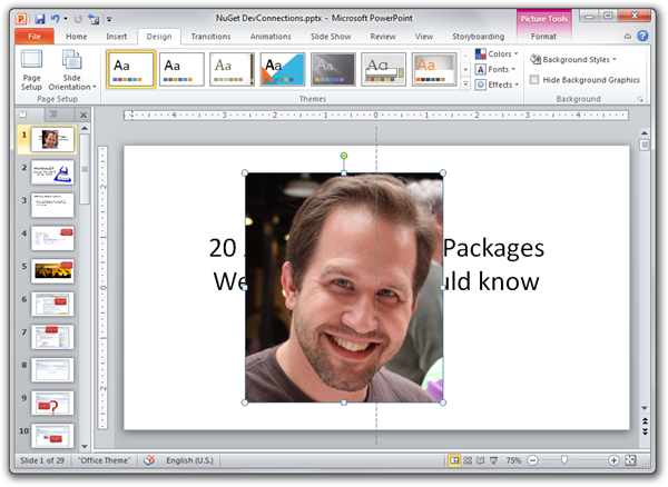 How To: Convert a PowerPoint Presentation from 4:3 ratio to