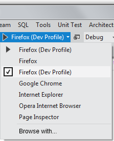 Extending the Visual Studio 11 Web Browser Chooser and