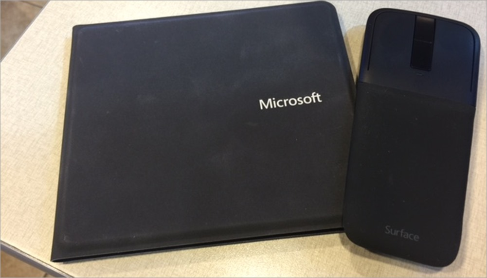 The Microsoft Universal Foldable Keyboard