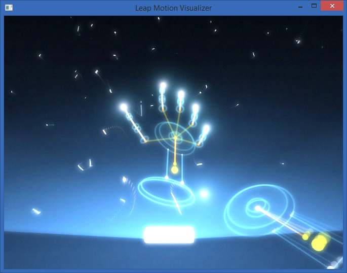 LeapMotion Visualizer