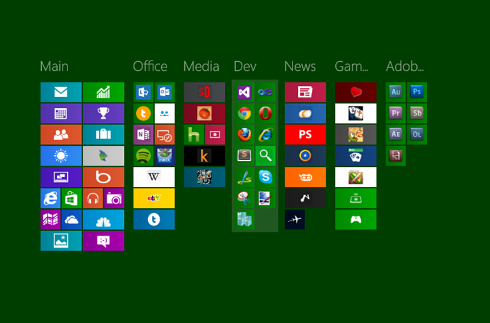 Windows 8 productivity: Who moved my cheese? Oh, there it is