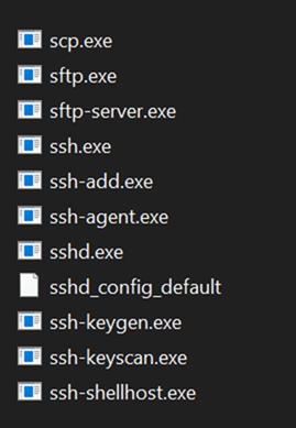 OpenSSH utilties