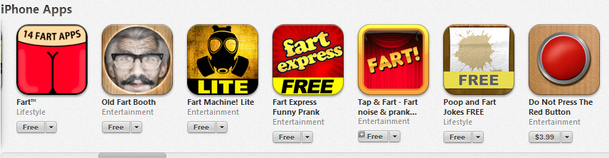 iPhone Fart Apps