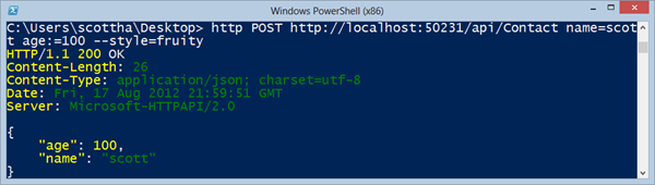 Installing HTTPIE (HTTP for Humans) on Windows - Great for ASP NET