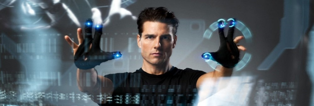 Tom Cruise looks so cool in Minority Report