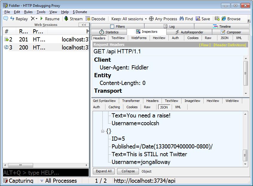 One ASP NET - Making JSON Web APIs with ASP NET MVC 4 Beta