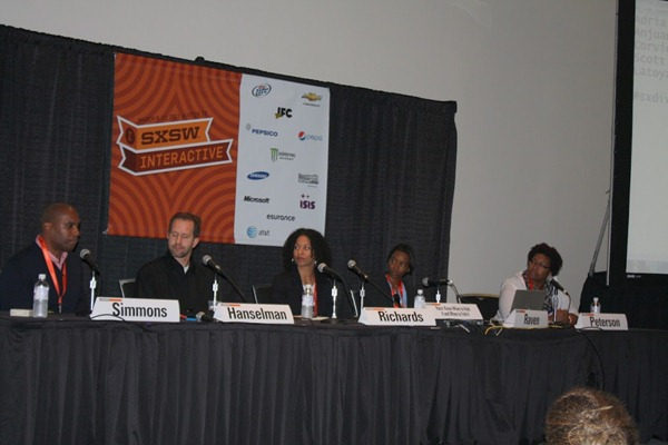 Our Diversity Panel at SXSW - Photo by Josette Rigsby