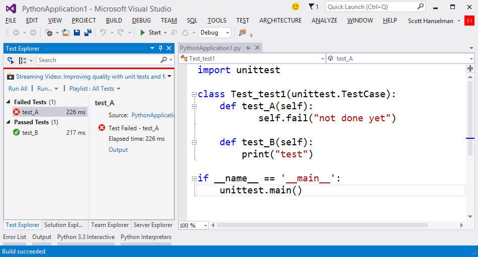 One of Microsoft's Best-Kept Secrets - Python Tools for