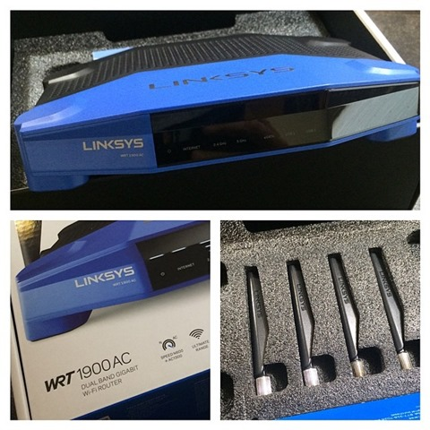 Linksys WRT1900AC Router